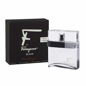 F by Ferragamo Black Eau De Toilette Spray For Men